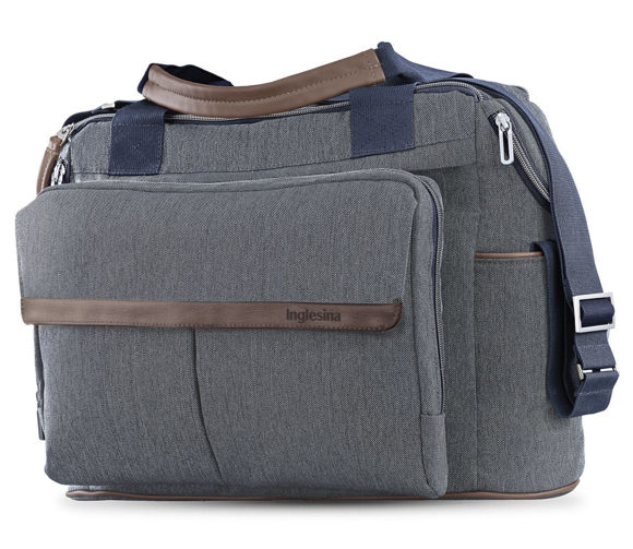 Εικόνα της Inglesina Dual Bag for Aptica, Trilogy and Trilogy Plus Tailor Denim