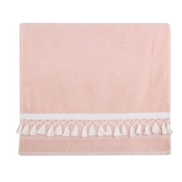 Εικόνα της Σετ Πετσέτες 3Τμχ Isolin Light Pink Nef-Nef 30X50-50X90-70X140