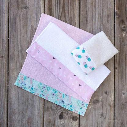 Εικόνα της Πετσέτες Παιδικές Σετ 3τμχ 30Χ30 Hoopla Nima