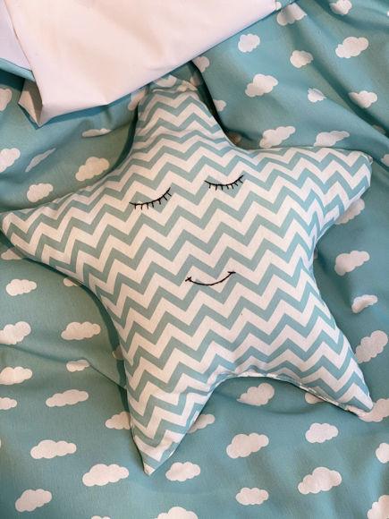 Εικόνα της Μαξιλάρι διακοσμητικό αστέρι Clouds Mint
