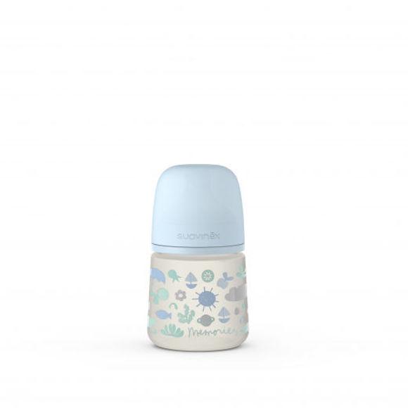 Εικόνα της New MEMORIES Μπιμπερό πλαστικο Σιλικόνης PP 150 ml SX PHY Pro Teat 0-3M (slow flow)