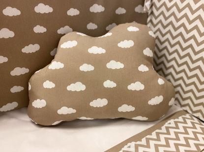 Εικόνα της Διακοσμητικό μαξιλάρι συννεφάκι Clouds Moka