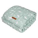 Εικόνα της LITTLE DUTCH. Κουβέρτα Ocean Mint 110 x 140