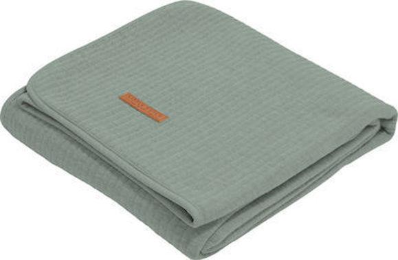 Εικόνα της Little Dutch Κουβέρτα Κούνιας Καλοκαιρινή Pure 110x140cm Mint