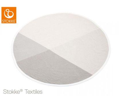 Εικόνα της Stokke Blanket Knit Κουβέρτα πλεκτή στρογγυλή Beige