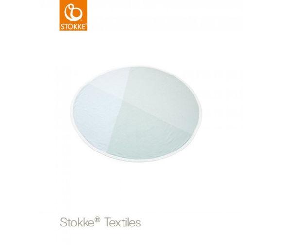 Εικόνα της Stokke Blanket Knit Κουβέρτα πλεκτή στρογγυλή Mint