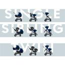Εικόνα της CYBEX Gazelle S Καρότσι Frame Black / Seat Navy Blue
