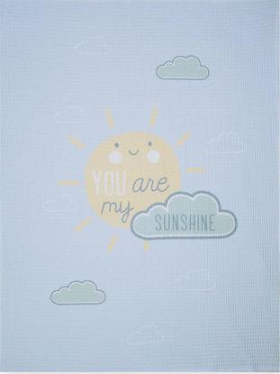 Εικόνα της Nef-Nef Κουβέρτα Αγκαλιάς & Λίκνου Sunshine Πικέ 110x80cm