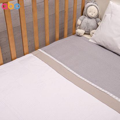 Εικόνα της Πικέ κουβέρτα 100*150 Royal ΑΒΟ