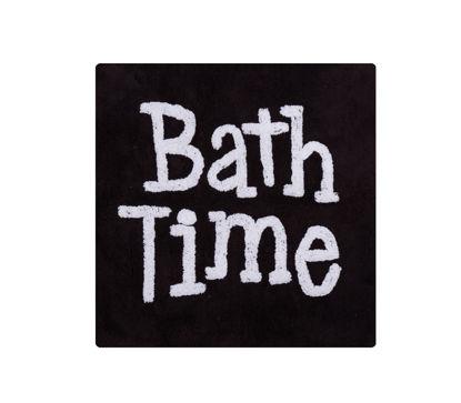 Εικόνα της ΧΑΛΑΚΙ ΜΠΑΝΙΟΥ NEF NEF BLACK BATH TIME 80X80