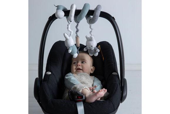 Εικόνα της Miffy Σπιράλ Καροτσιού / Καθίσματος Αυτοκίνητου/ Κούνιας  Mint