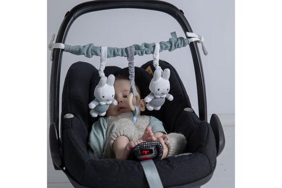 Εικόνα της Miffy Παιχνίδι Δραστηριοτήτων Καροτσιού / Καθίσματος Αυτοκίνητου Mint