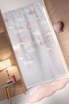 Εικόνα της Κουρτίνα παιδική Cloudy Silver Pinky Guy Laroche 145x270