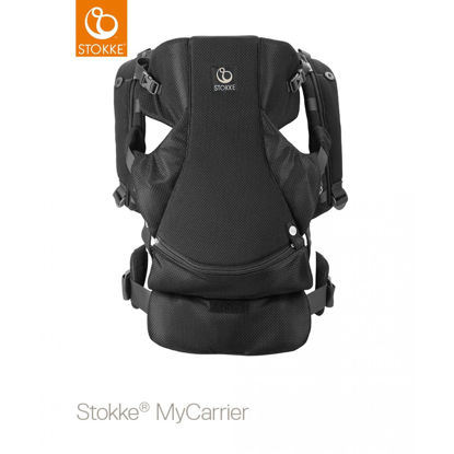 Εικόνα της Stokke Mycarrier Front and Back Μάρσιπος Black Mesh