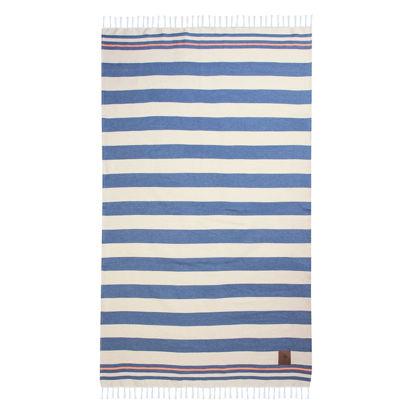 Εικόνα της Πετσέτα Θαλάσσης Μπλε  Πορτοκαλί Greenwich Polo Club 3585