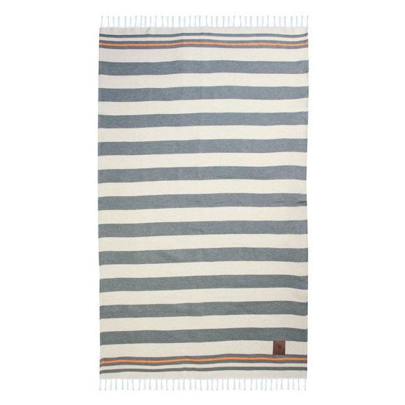 Εικόνα της Greenwich Polo Club 3584 Πετσέτα Θαλάσσης 100×190 Χακι-Πορτοκαλι Essential