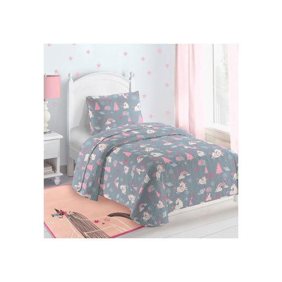 Εικόνα της Κουβερλί Παιδικό Maggia Grey-Pink Saint Clair 160x220