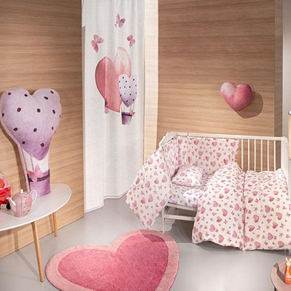 Εικόνα της Σεντόνια Βρεφικά Sweet Heart Σετ 3τμχ Pink Guy Laroche