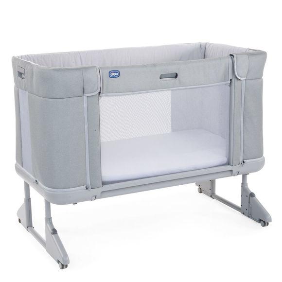 Εικόνα της Chicco Next2Me Forever Cool Grey  | Co-sleeping cot