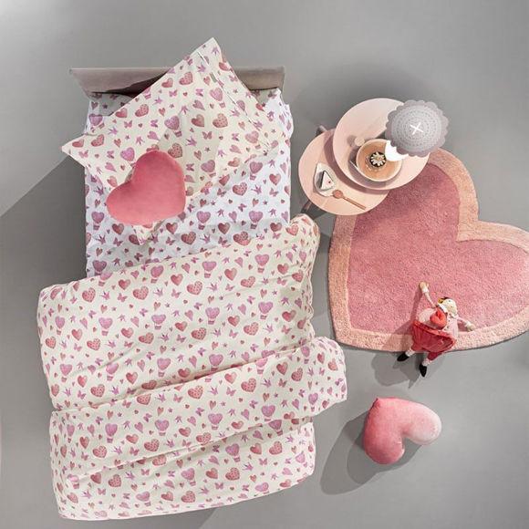 Εικόνα της Σεντόνια Παιδικά Sweet Heart Σετ 3τμχ Pink Guy Laroche