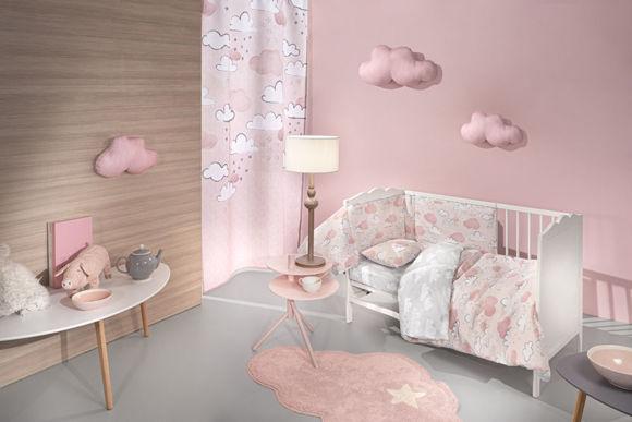 Εικόνα της Σετ Κούνιας 3τμχ Guy Laroche Cloudy Pinky