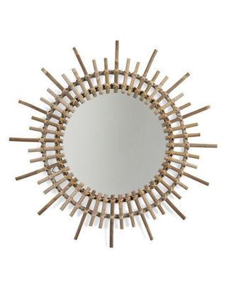 Εικόνα της Καθρέφτης Childhome Rattan Mirror Aura 60cm