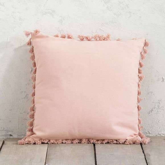 Εικόνα της Διακοσμητικό Μαξιλάρι (45×45) Nima Pillows Hommy Salmon