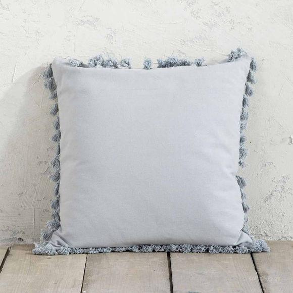 Εικόνα της Διακοσμητικό Μαξιλάρι (45×45) Nima Pillows Hommy Grey