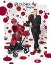 """Εικόνα της Cybex Καρότσι Priam PETTICOAT by Jeremy Scott  Black Frame """"Limited Edition"""""""