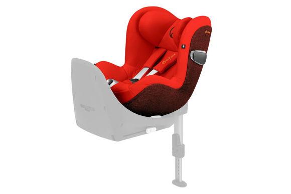 Εικόνα της Cybex Sirona Z I-Size παιδικό κάθισμα αυτοκινήτου Autumn Gold | burnt red