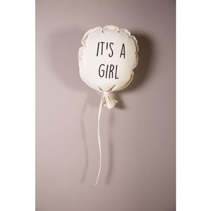 Εικόνα της Υφασματινο μπαλόνι Girl Childhome 35*26*8
