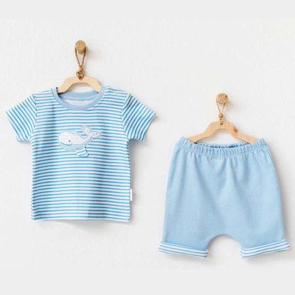 Εικόνα της Σετ μπλουζάκι με σορτσάκι Cute Whale