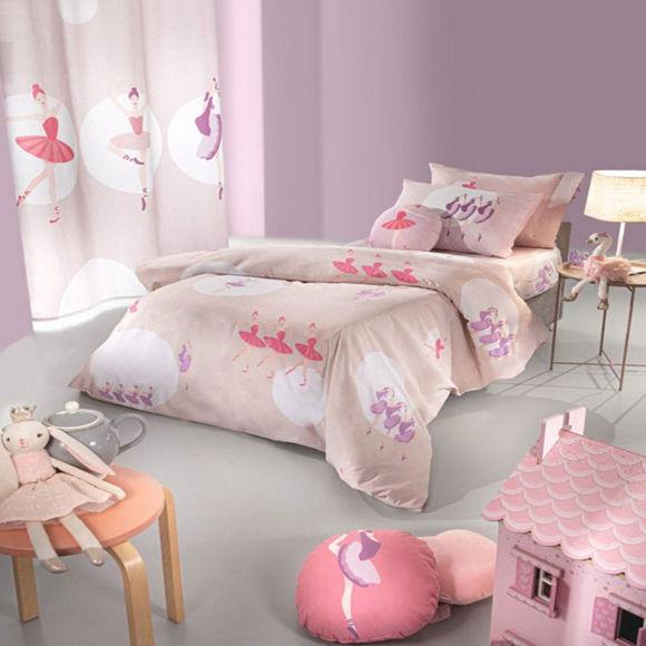 Εικόνα της Σεντόνια Παιδικά Σετ 3τμχ Ballerinas Pink Saint Clair