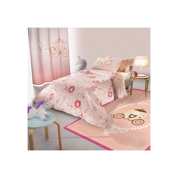 Εικόνα της Σεντόνια Παιδικά Σετ 3τμχ Cinderella Pink Saint Clair