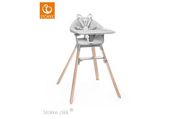 Εικόνα της Stokke Clikk High Chair Grey