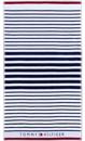 Εικόνα της Πετσέτα Θαλάσσης Sailor Navy  100x180 Tommy Hilfiger