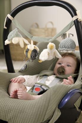Εικόνα της Υφασμάτινη γιρλάντα για καρότσι Little Goose Little Dutch