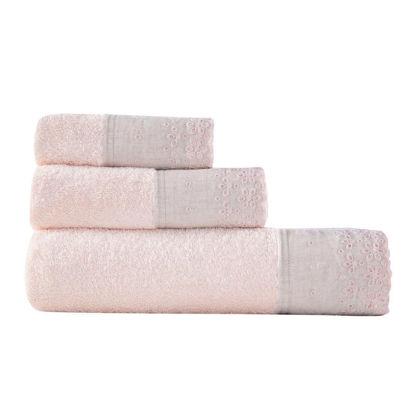 Εικόνα της Πετσέτες Μπάνιου (Σετ 3τμχ) Nef-Nef Amelie Pink