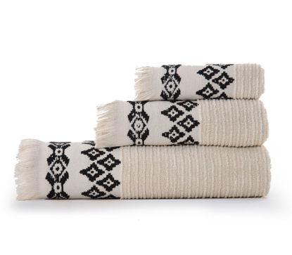 Εικόνα της Σετ πετσέτες 3 τεμάχια Nef Nef Arabi Linen