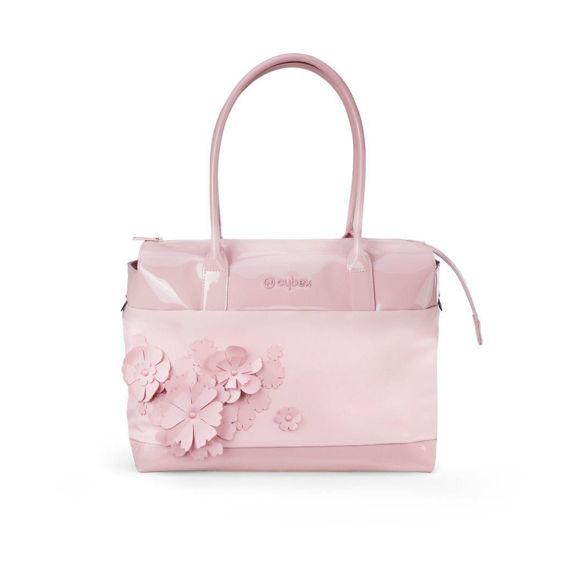 Εικόνα της Cybex Τσάντα Αλλαγής Simply Flowers Pink