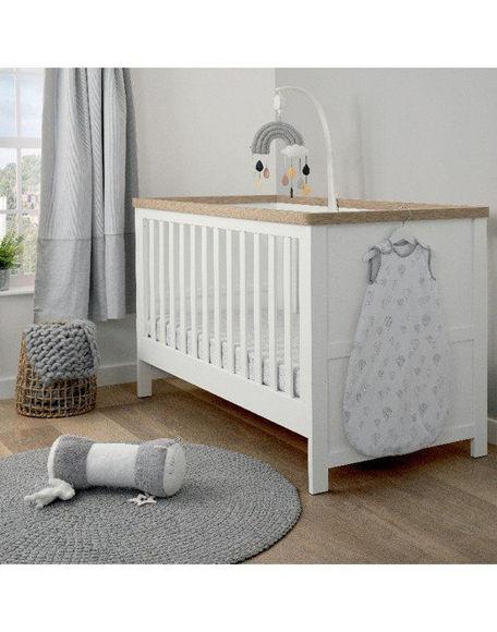 Εικόνα της Κρεβάτι Mamas & Papas Κeswick White/ Oak