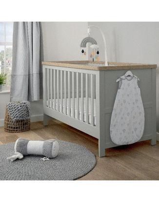 Εικόνα της Κρεβάτι Mamas & Papas Κeswick Grey/ Oak