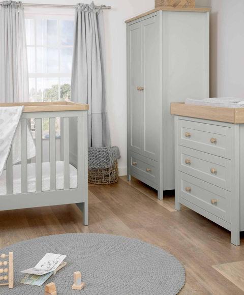 Εικόνα της Βρεφικό Δωμάτιο Keswick Grey/Oak Mamas & Papas