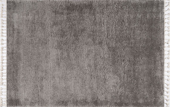 Εικόνα της Χαλί 200x280 Soft Shaggy Dark Grey