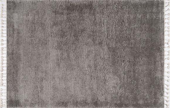 Εικόνα της Χαλί 165x230 Soft Shaggy Dark Grey