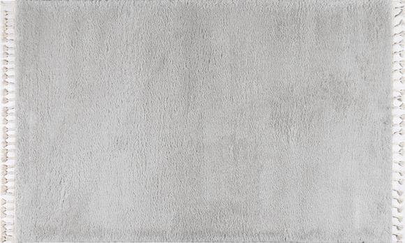 Εικόνα της Χαλί 165x230 Soft Shaggy Light Grey