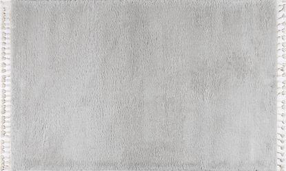 Εικόνα της Σετ κρεβατοκάμαρας Soft Shaggy Light Grey