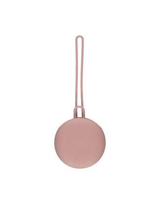 Εικόνα της Θήκη για Πιπίλες και Αλυσίδες Νibbling Blush Pink