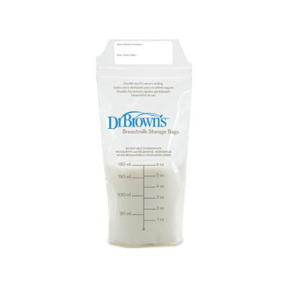 Εικόνα της Dr Brown's Σακουλάκια φύλαξης μητρικού γάλακτος 25 τεμάχια