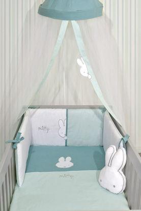 Εικόνα της Σετ Προίκας 3 τεμάχια Μουσελίνα Miffy Μέντα Baby Oliver